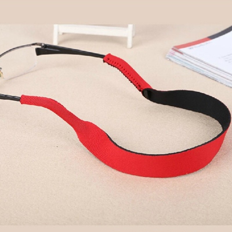 Spectacle Glasses Anti Slip Strap Stretchy Neck Cord Outdoor Sports Eyeglasses String Sunglass Rope Band Holder 4 Colors 33.5cm