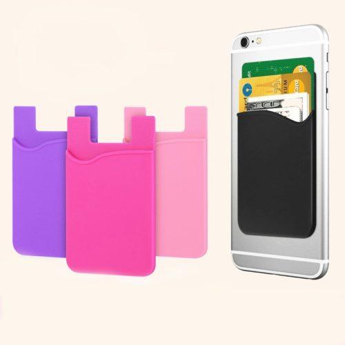 Phone Pocket Sticker ID Card Holder