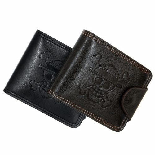 Multi-Slot Leather One Piece Wallet