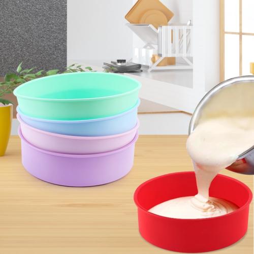 Silicone Round Cake Pan Baking Mold