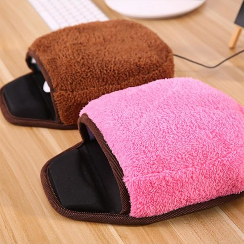 Hand Warmer Mouse Pad with Wrist Pad