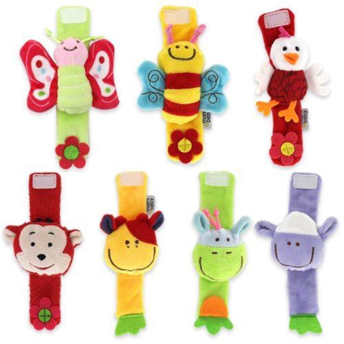 Baby Wrist Rattle Plush Wrist Strap