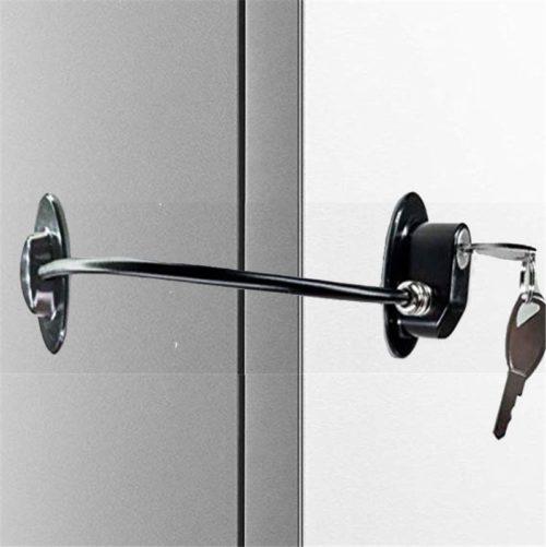 Fridge Door Lock with Keys