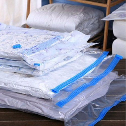 Vacuum Clothes Bag Transparent Storage
