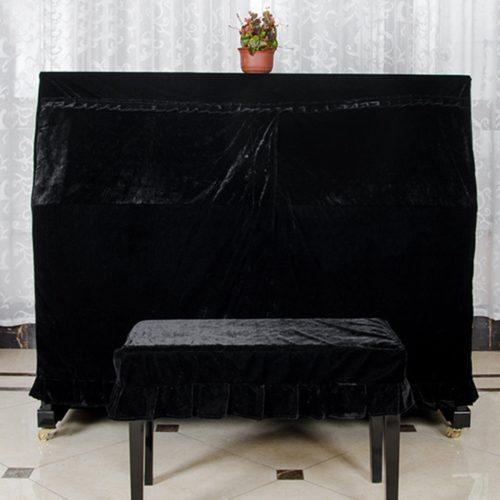 Soft Velvet Piano Cloth Cover
