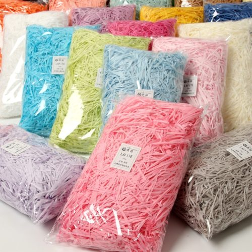 Shredded Paper Fillers for Gift Wrapping