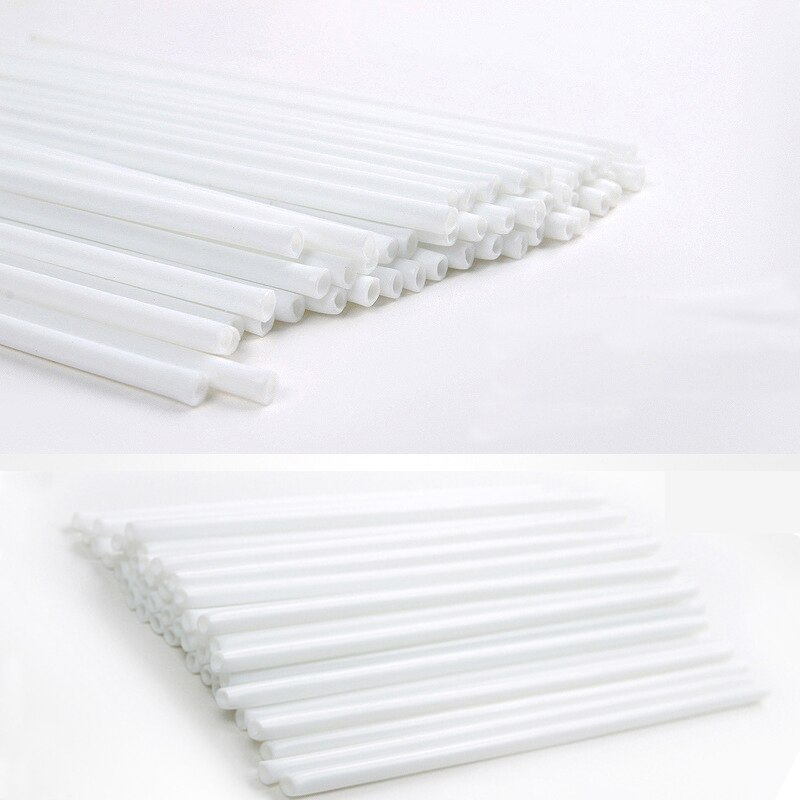 100pcs/pack 15cm Safe Plastic Lollipop Stick Cake Sweets Sticks For Chocolate Sugar Candy Lolly Pop DIY Mold Tool