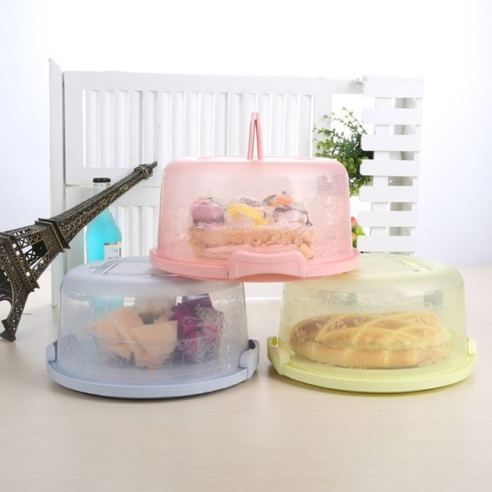 Cake Holder with Lid Dessert Storage Box