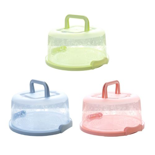 Cake Holder with Lid Dessert Storage Box