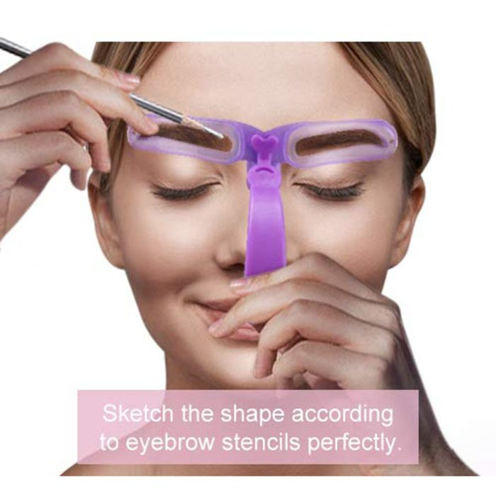Reusable Eyebrow Shaper Stencils (8Pcs.)