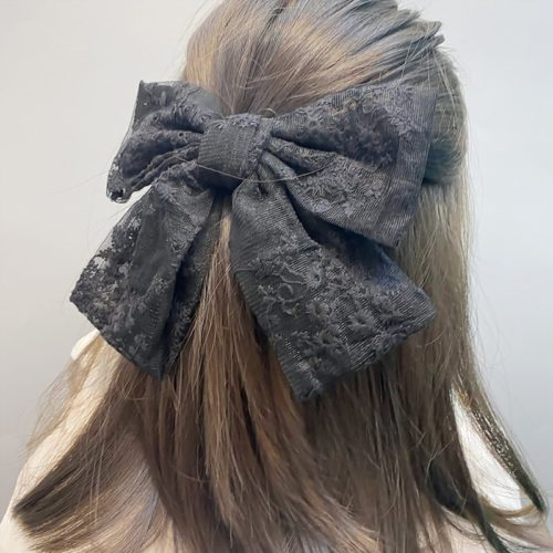 Ribbon Hair Clip Fashion Accessory
