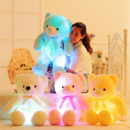 Glow Teddy Bear LED Stuffed Toy