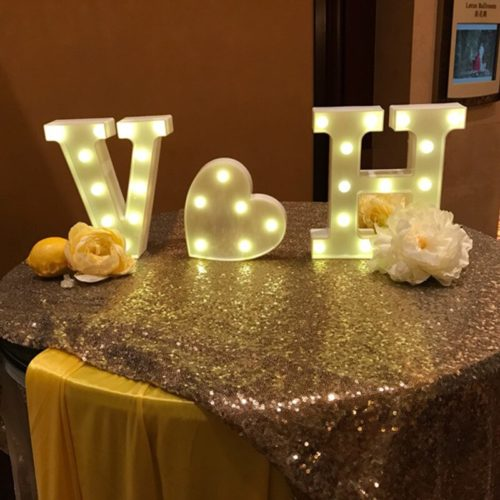 LED Letter Light 3D Standee