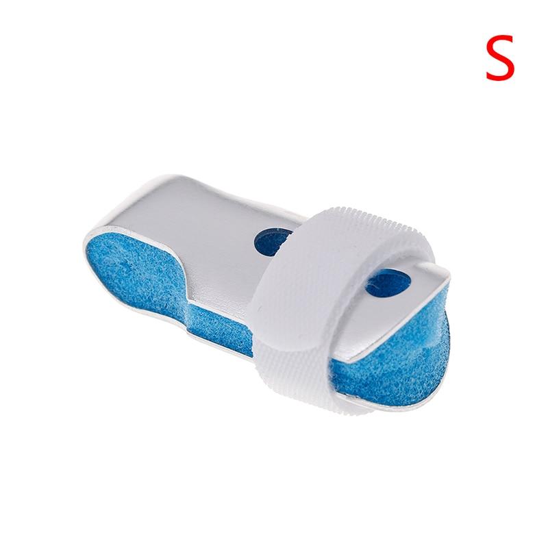 Mallet Aluminum & Foam Support Brace Finger Splint Hand Trigger Broken Finger/Sprain/Fracture/Pain Relief/ Joint Immobilization