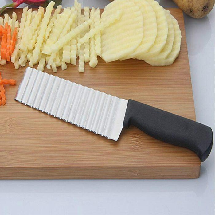 Zig Zag Knife Wavy Potato Slicer