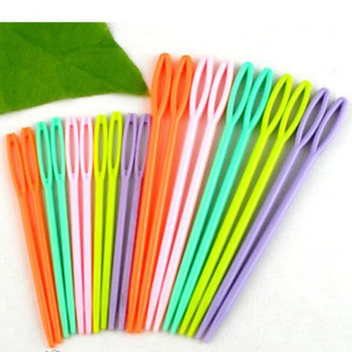 Two-Size Plastic Knitting Needles (20pcs)