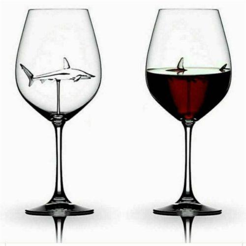 Shark Wine Glass Creative Cup
