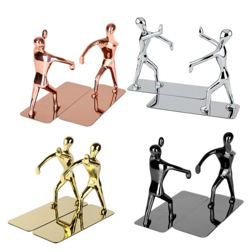Stainless Creative Bookends (1 Pair)