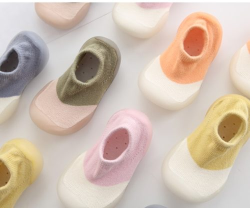 Baby Shoe Socks with Rubber Sole