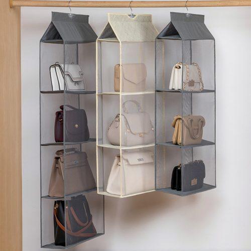 Hanger For Handbags Transparent Organizer