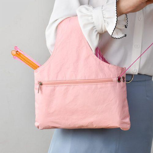 Yarn Bag Knitting Needlework Tote