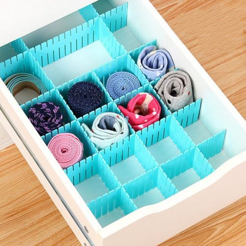 Adjustable Drawer Organizers (4 Pcs)