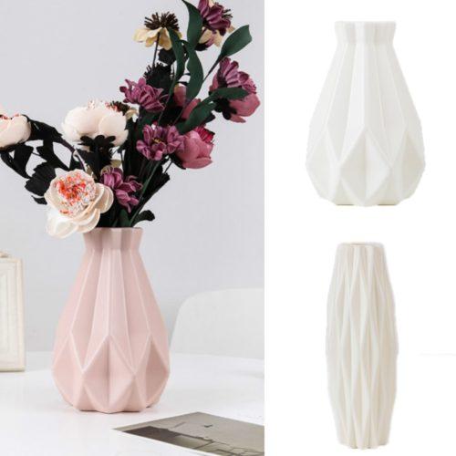 Plastic Modern Flower Vase Home Decoration
