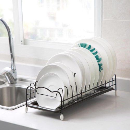 Drying Mini Dish Rack with Tray