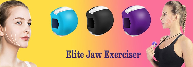 Fitness Accessories Facial Mouth Jawline Trainer Jaw Exerciser Jaw Line Exercise Muscle Chewer Ball Bite Breaker Gym
