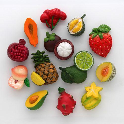 3D Decorative Fruit Fridge Magnet