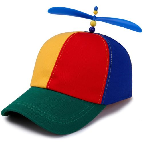 Propeller Hat Fun Colorful Snapback