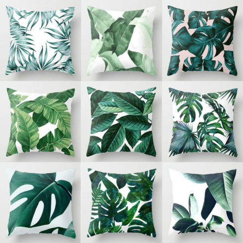 Tropical Pillow Case Cushion Cover