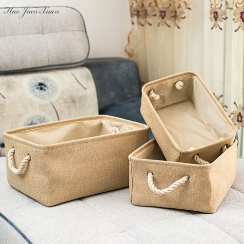 Cloth Storage Basket Linen Box