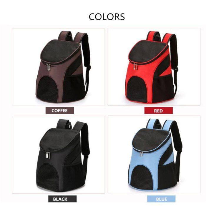 Pet Backpack Carrier Foldable Travel Bag