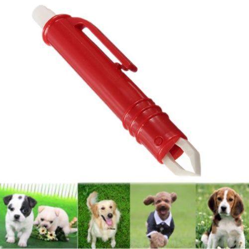 Pen-Type Plastic Pet Tick Tweezers