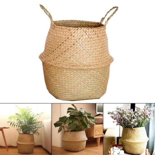 Wicker Basket for Indoor Plants