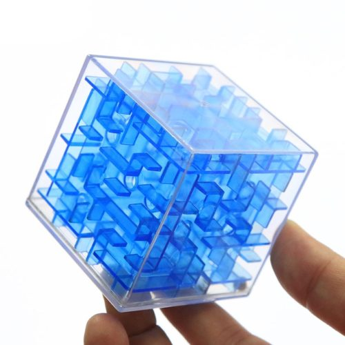 Maze Cube Transparent Puzzle Toy