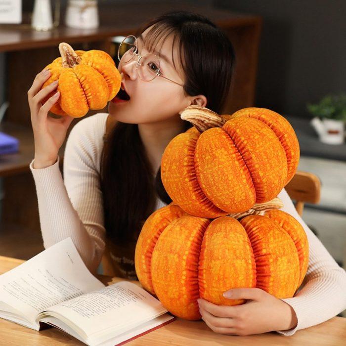 Pumpkin Cushion Halloween Decor Pillow