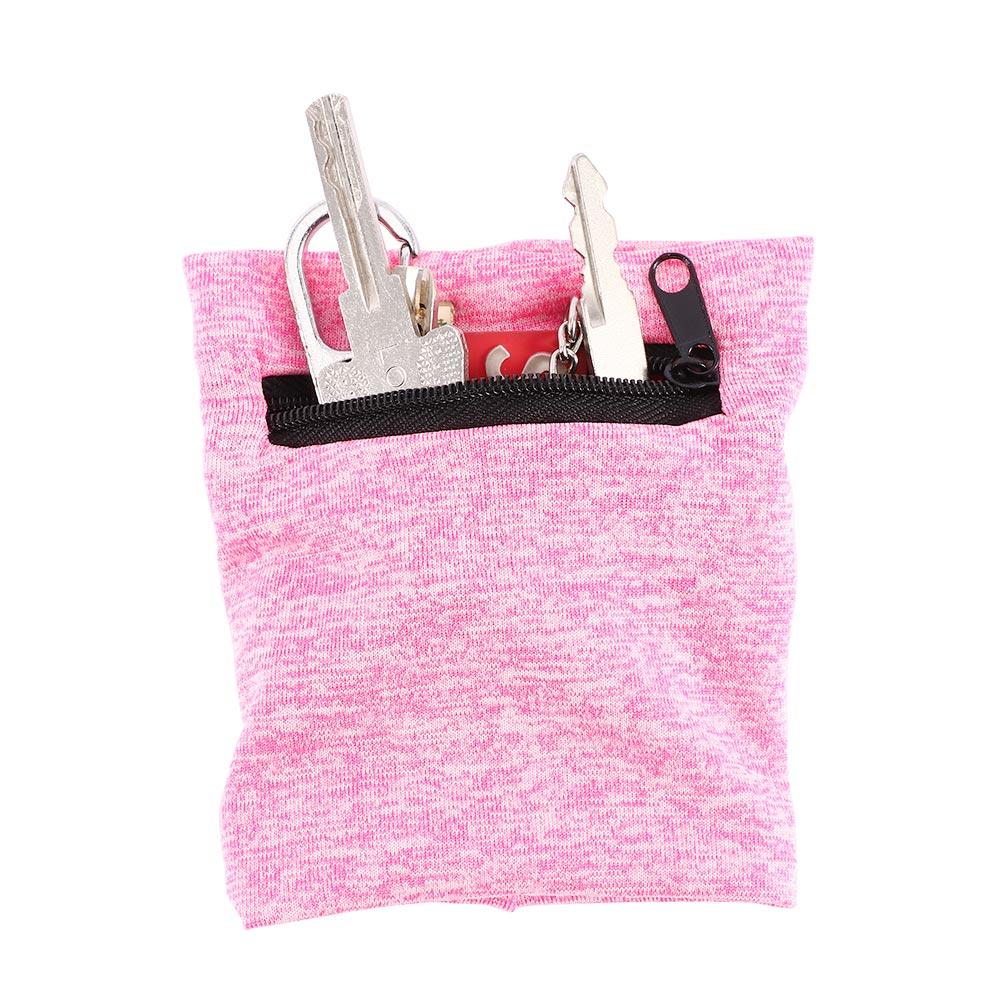 Unisex Running Hand Guards Storage Bag Protector Zipper Sweat Band Wrist Support Wristband Sweatband Wrist Wallet