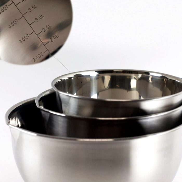 Stainless Steel Mixing Bowl with Handle