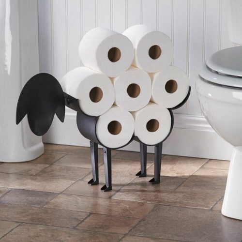 Sheep Toilet Paper Holder Iron Rack