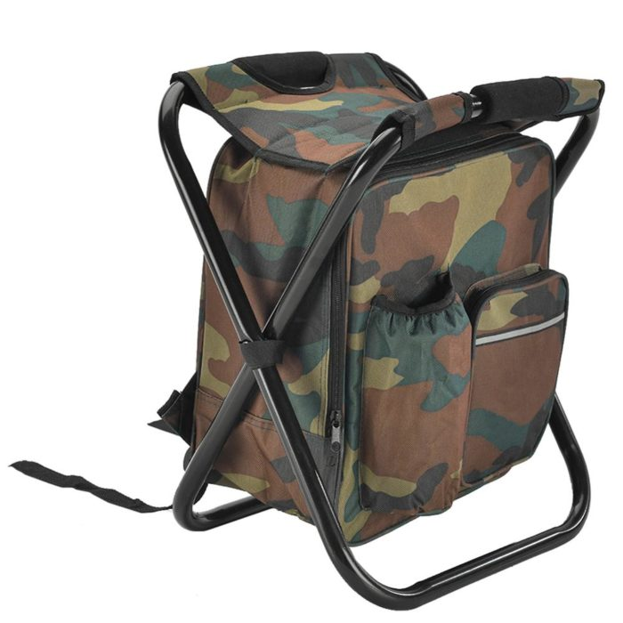 Insulated Foldable Camping Backpack Chair