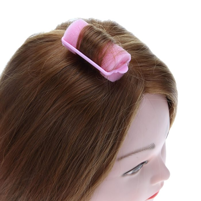 Sponge Hair Rollers Curl Foams (12 Pcs)