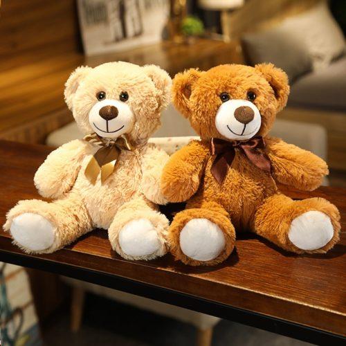 Huggable Teddy Bear With Bow Tie