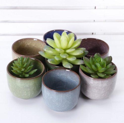 Mini Ceramic Pot for Succulents