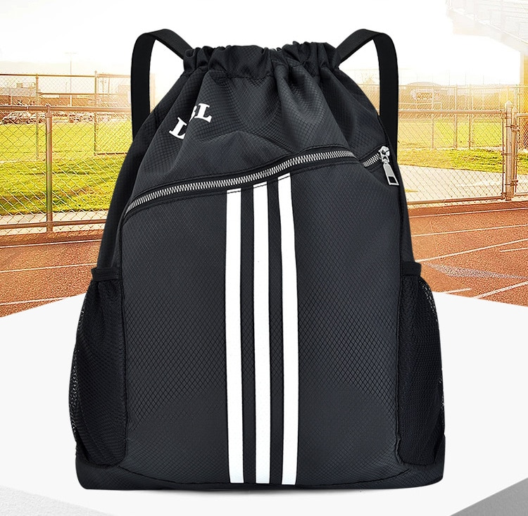 Outdoor Sports Gym Bags Basketball Backpack For Sports Bags Women Fitness Yoga Bag Drawstring Gym Bag