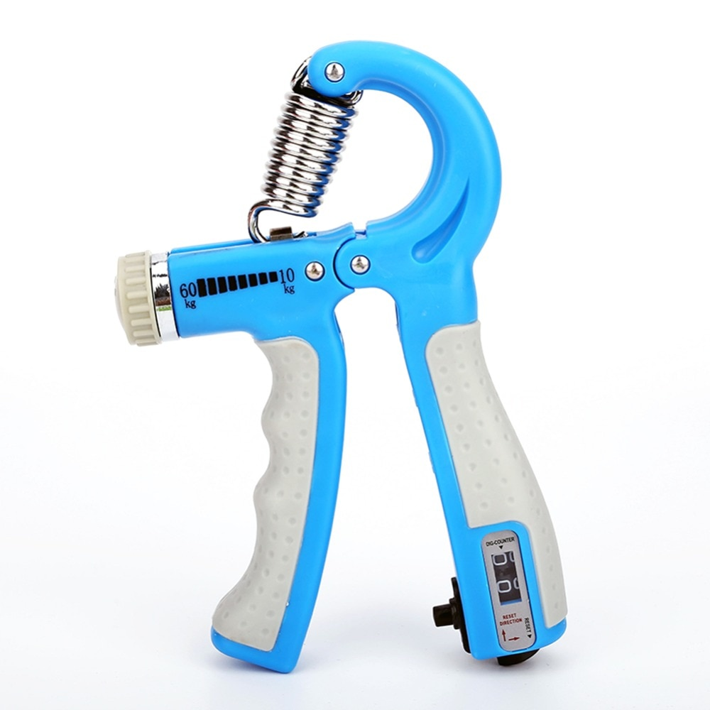 Adjustable Heavy Gripper Fitness Hand Exerciser Grip Wrist Training Increase Strength Spring Finger Pinch Carpal Expander