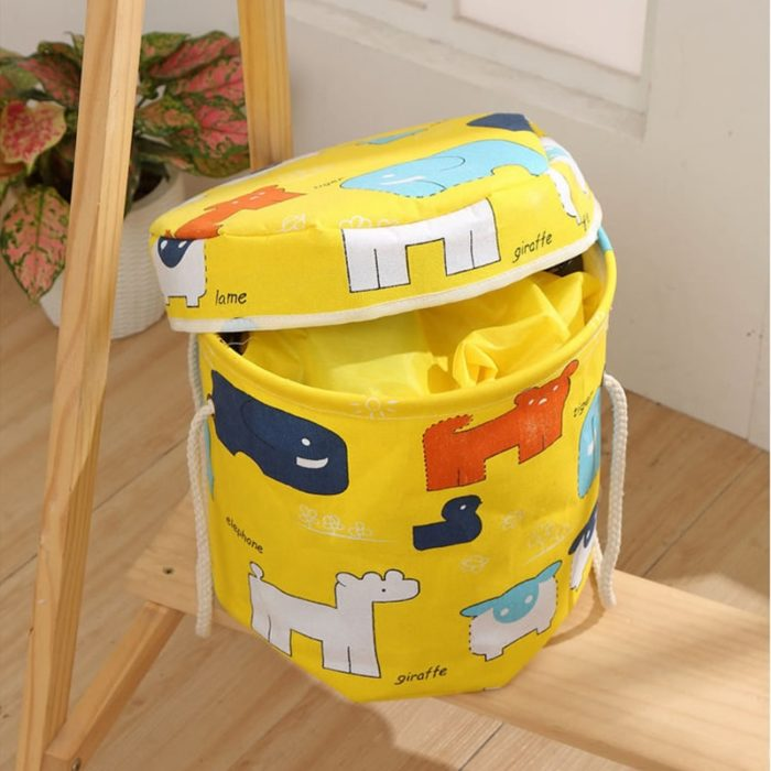 Drawstring Play Mat Toy Storage Pouch
