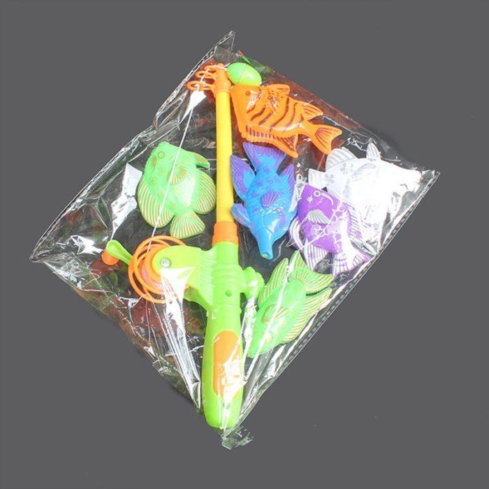 Kids Magnetic Fishing Toy Set (7pcs)