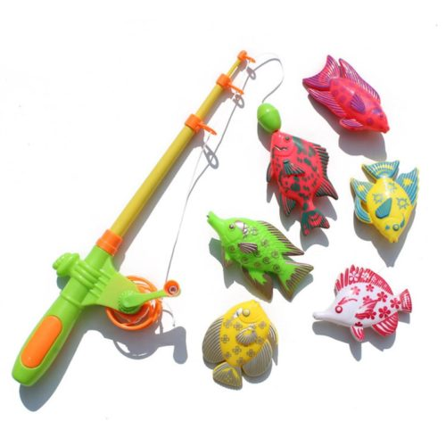 Kids Magnetic Fishing Toy Set (7pcs)